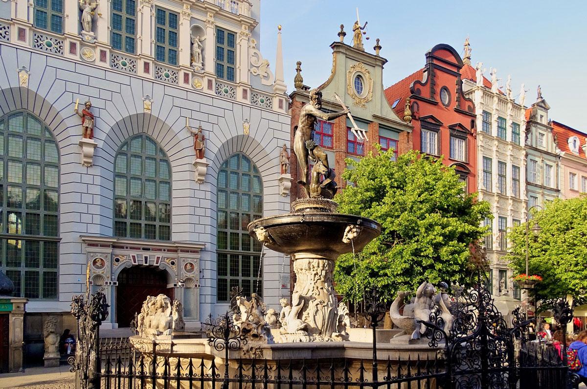 Wycieczka Gdańska wynajem samochodu