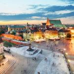Wycieczka po Warszawie wynajem samochodu