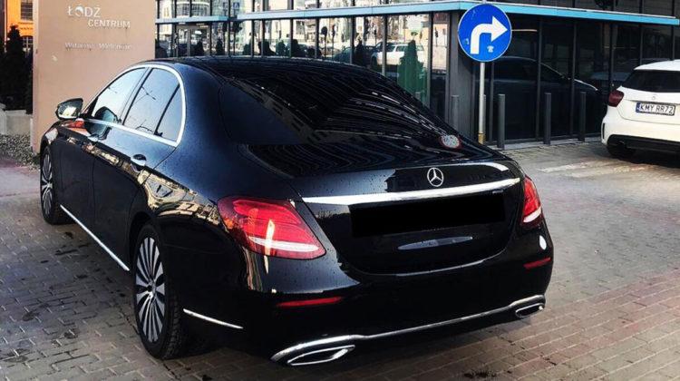 Mercedes E-klasa wynajem limuzyn
