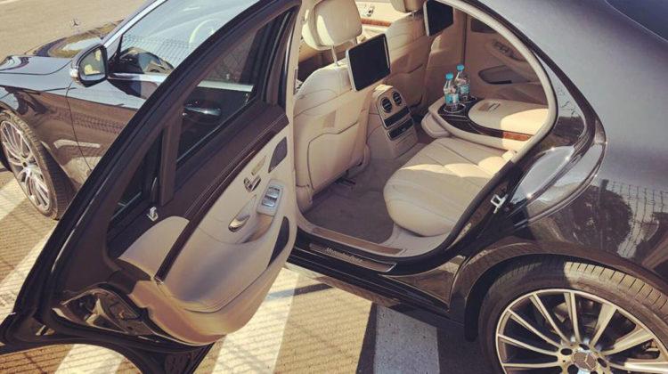 Mercedes S-klasa wynajem limuzyny