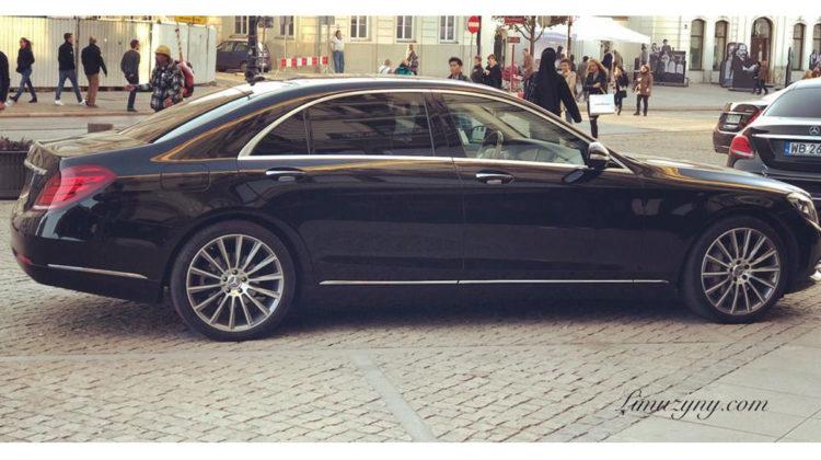 Mercedes S-klasa wynajem Vip