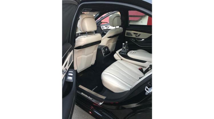 Mercedes S transport VIP Kraków