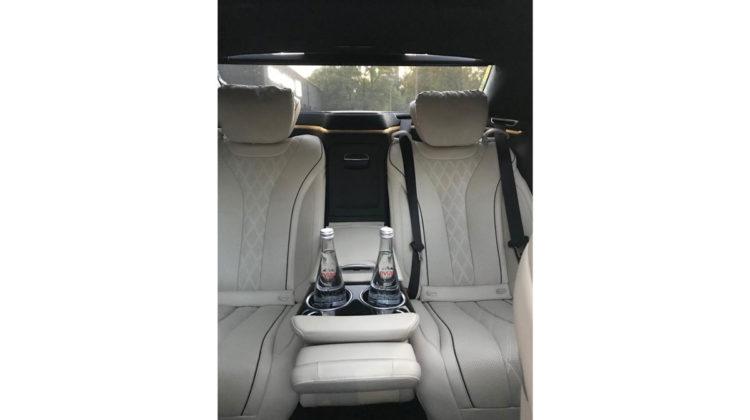 Mercedes S transport VIP Warszawa