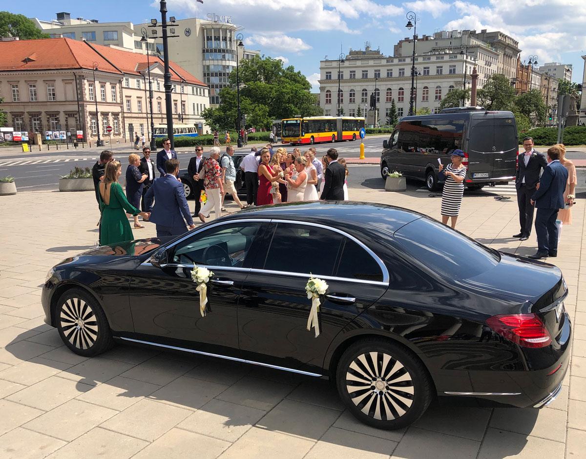 Samochód na ślub wynajem Warszawa